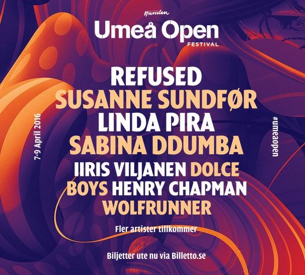 Umeå Open Festival - 2016