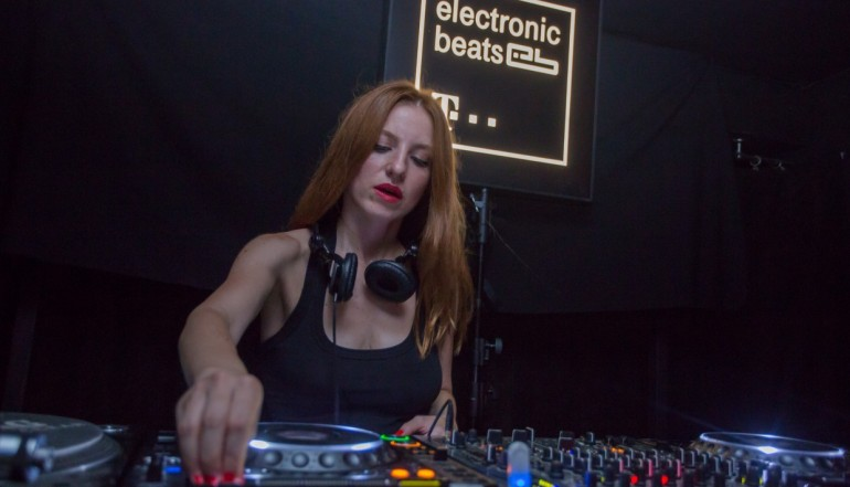 DJ Tijana T live at the Electronic Beats Fest in Podgorica, Montenegro (Photo by Milos Vujovic)