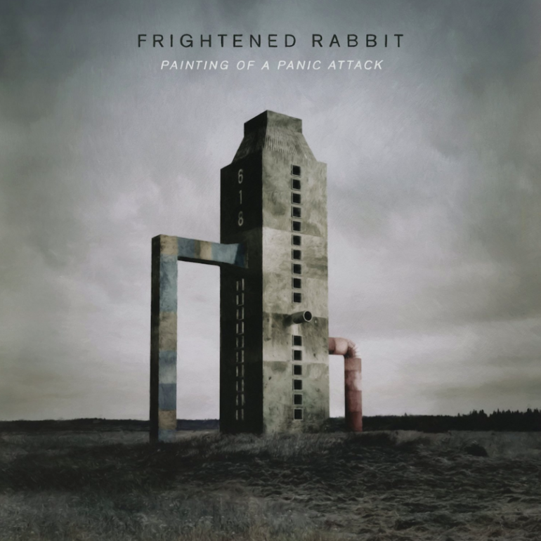 Frightened Rabbit - Painting of a Panic Attack - Artwork