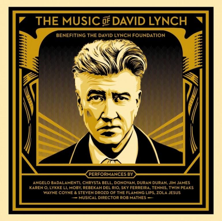 The Music Of David Lynch - Artwork