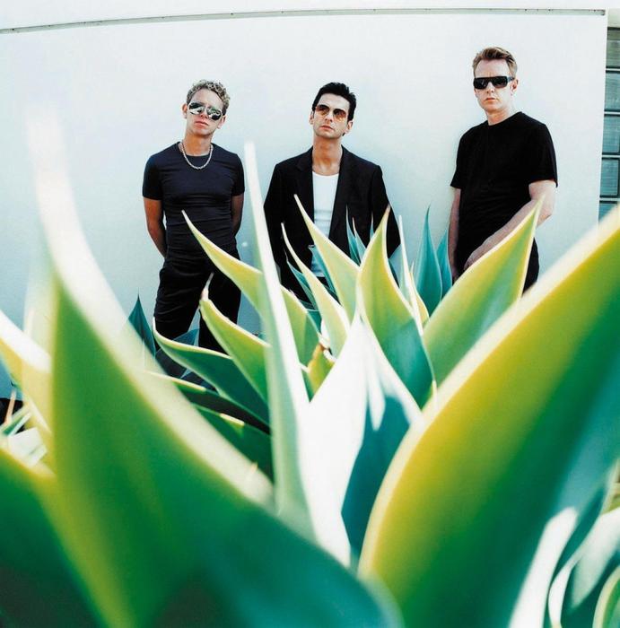 Depeche Mode in 2001. Photo by Anton Corbijn