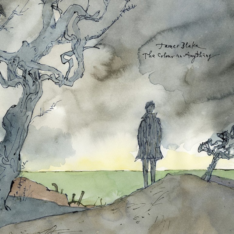James Blake - The Colour In Anything - Artwork