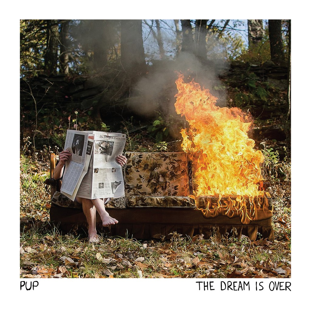 PUP - The Dream Is Over - Artwork