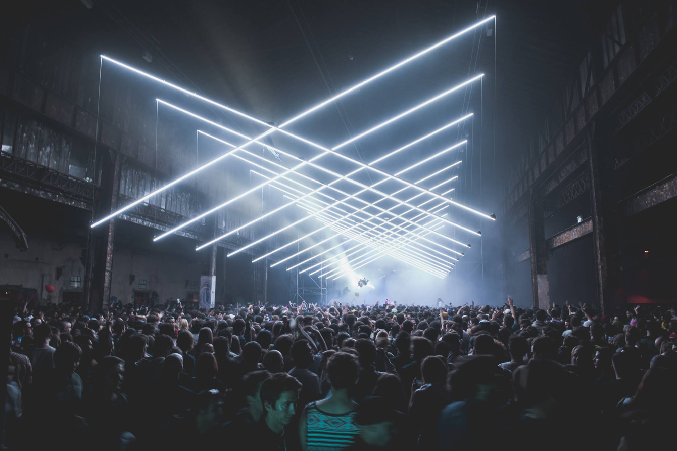 Lyon Nuits Sonores Warehouse