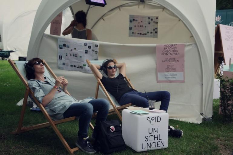 Open Source Festivalgelände Relaxed