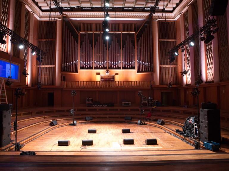 The hall awaits you