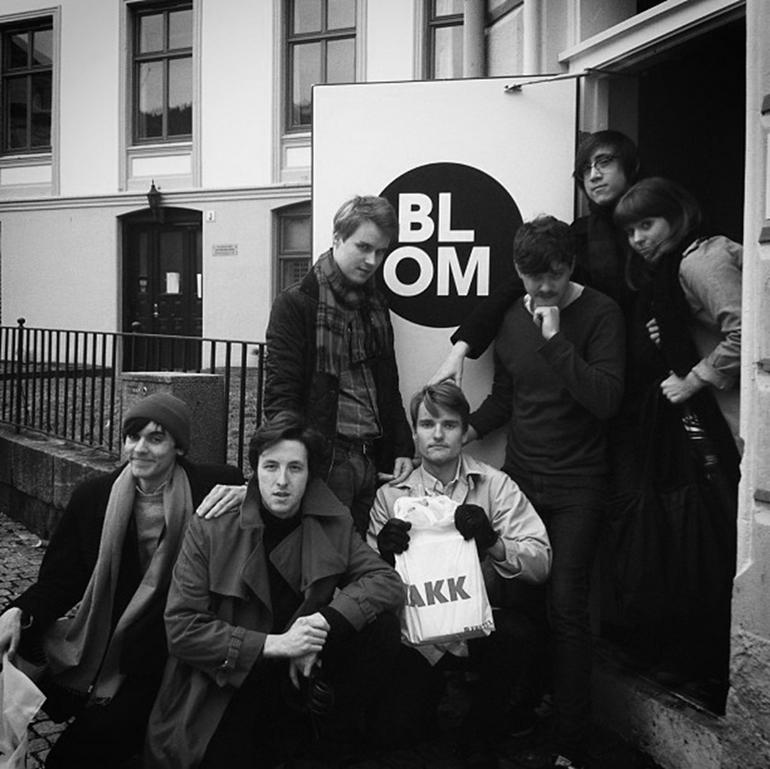 Blom crew in Bergen.