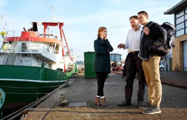 Lena and Jakob of 'Jugend Rettet' visiting potential ships back in October 2015 (Photo by Jann Wilken)
