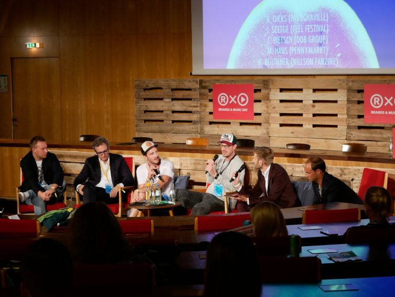 Brands & Music day at the c/o pop convention. Photo by Christian Isenbügel