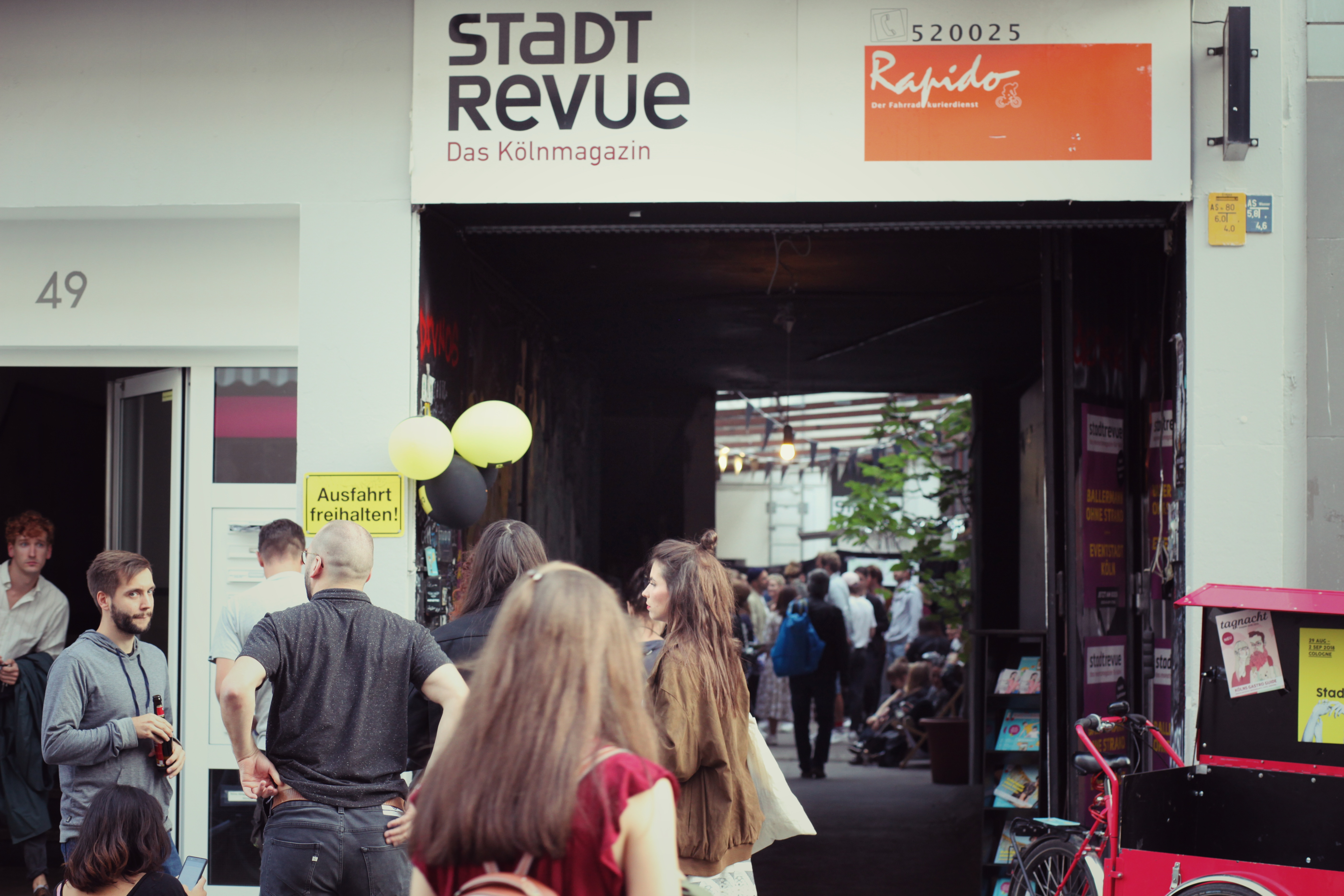 Stadtrevue. Photo by Felix Weichelt
