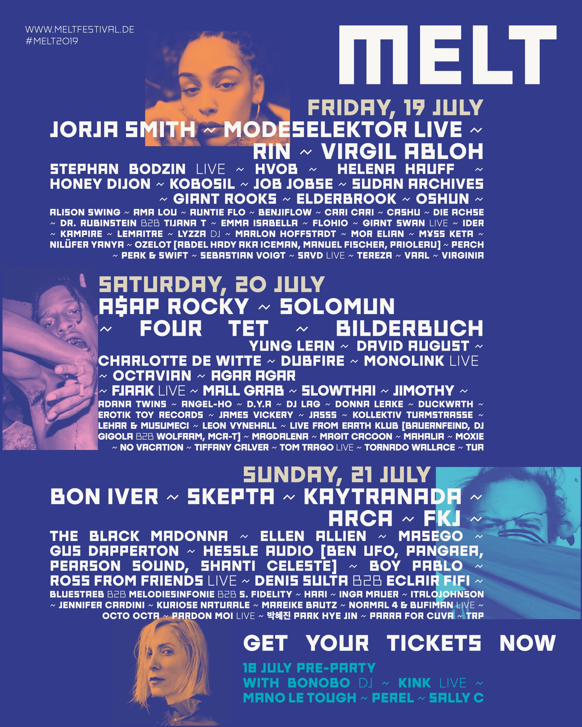 NBHAP Presents MELT Festival 2019 And Its Full Line-Up