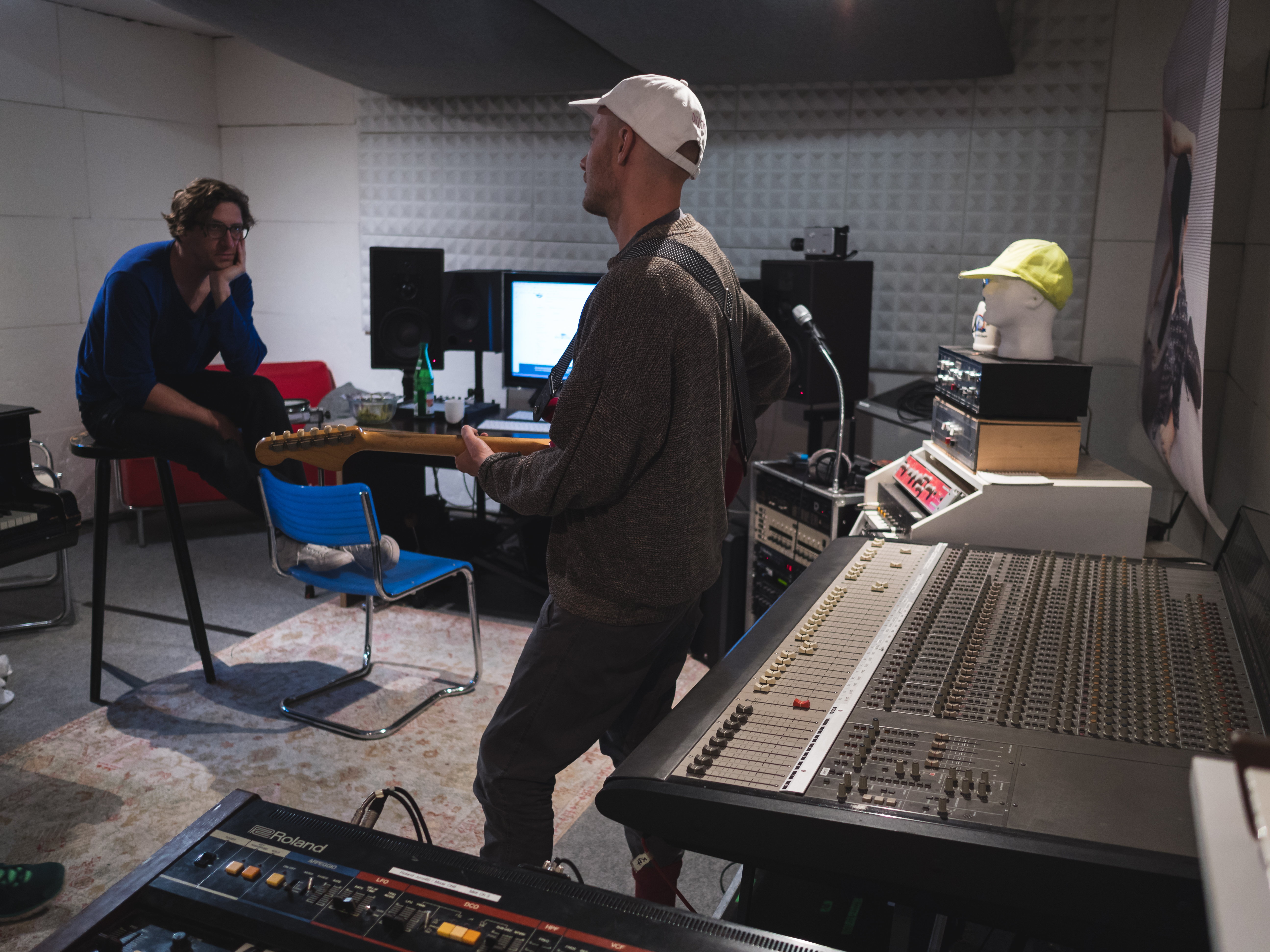 Coma at their studio